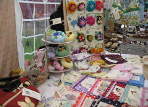 Pinky and Boo craft stall