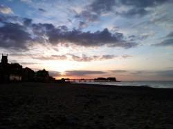 Sunset in Cromer