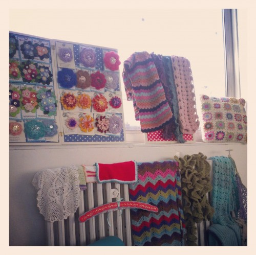Private crochet workshop at The Pretty Dandy Flea
