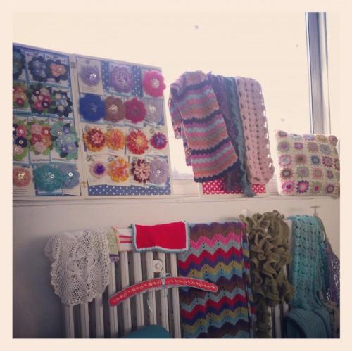 Private crochet workshop at The Pretty Dandy Flea